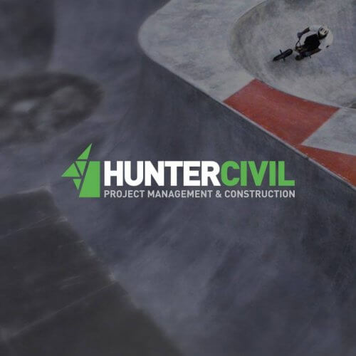 Hunter Civil Logo Design
