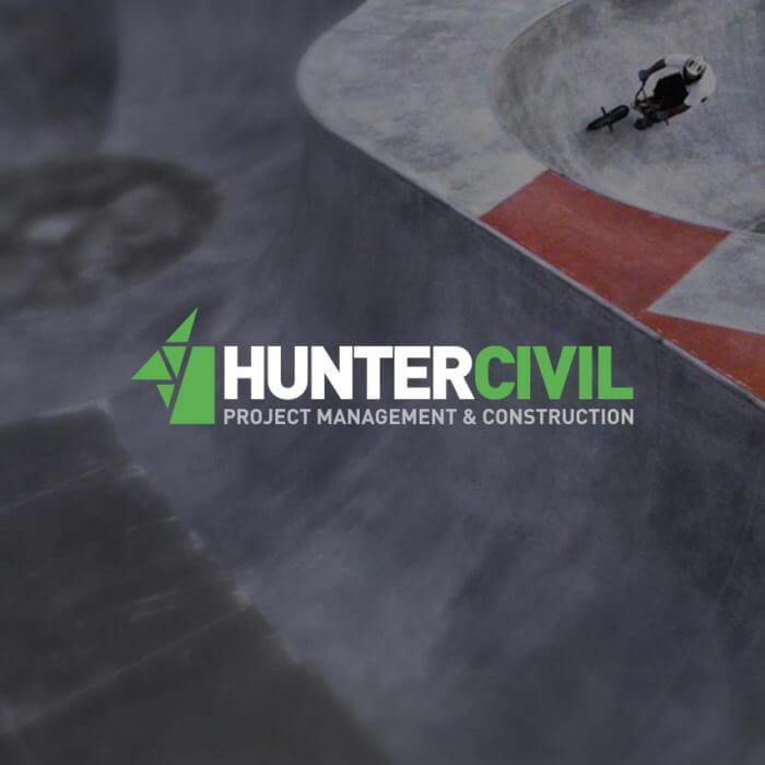 Hunter Civil Logo Design