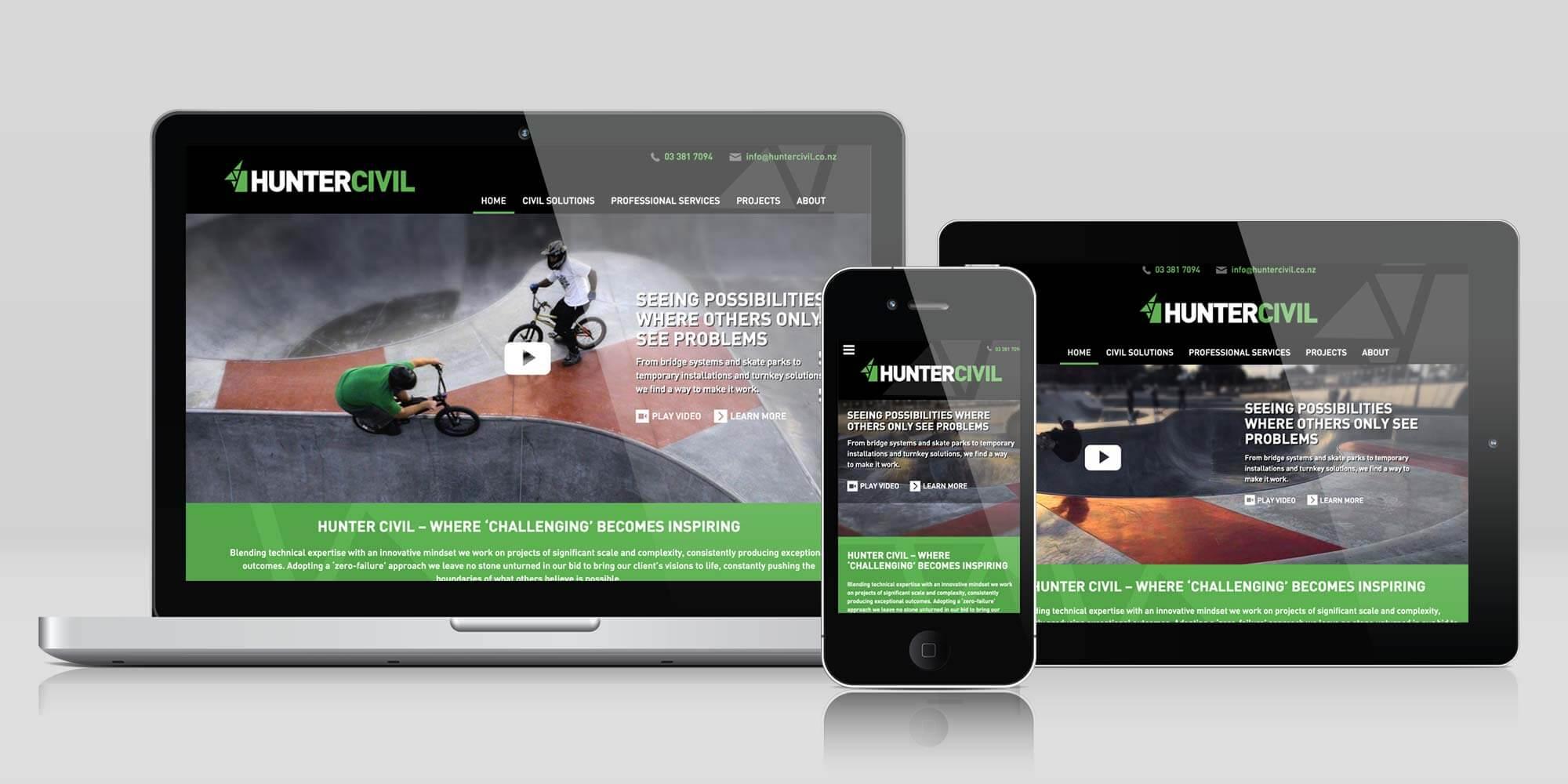 Hunter Civil Website