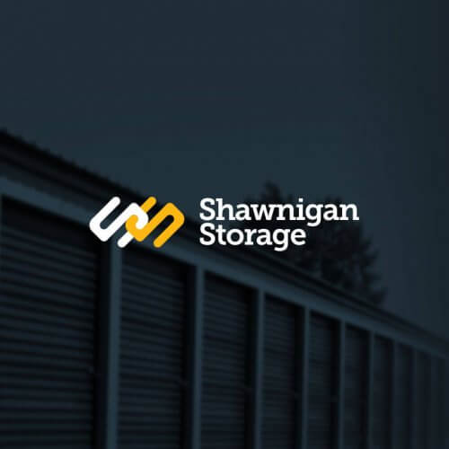 Shawnigan Storage Logo and Website