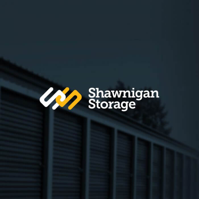 Shawnigan Storage Logo and Website