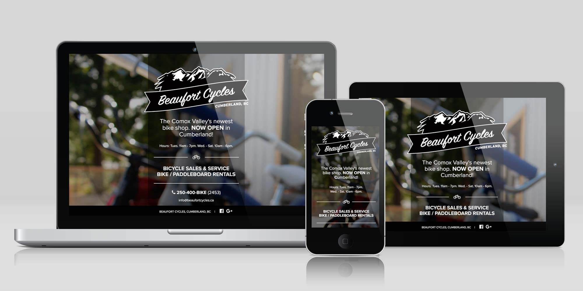 Beaufort Cycles website