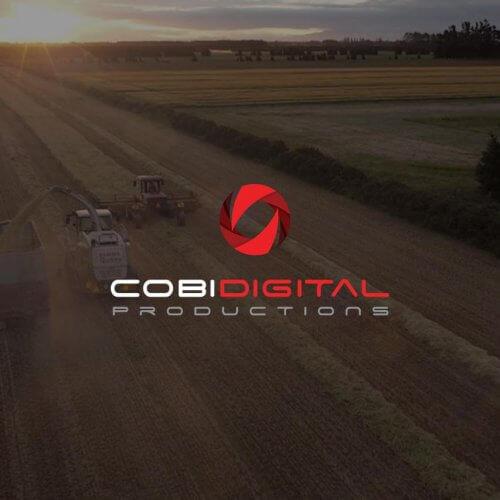 COBi Digital Productions Logo Design