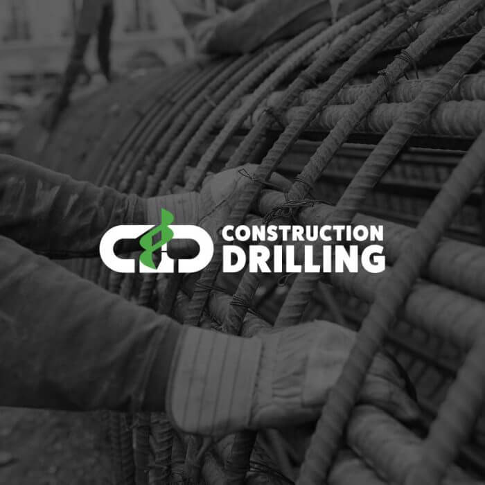 Construction Drilling Logo & Website Design and Development
