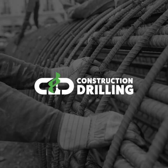Construction Drilling Logo & Website Design and Development