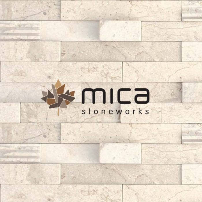 Mica Stoneworks Canada Logo Design