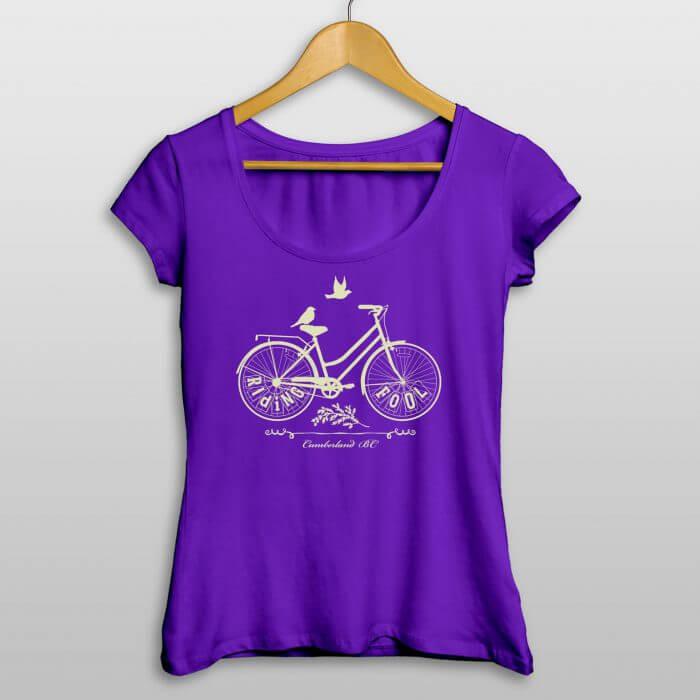 Riding Fool Ladies Shirt