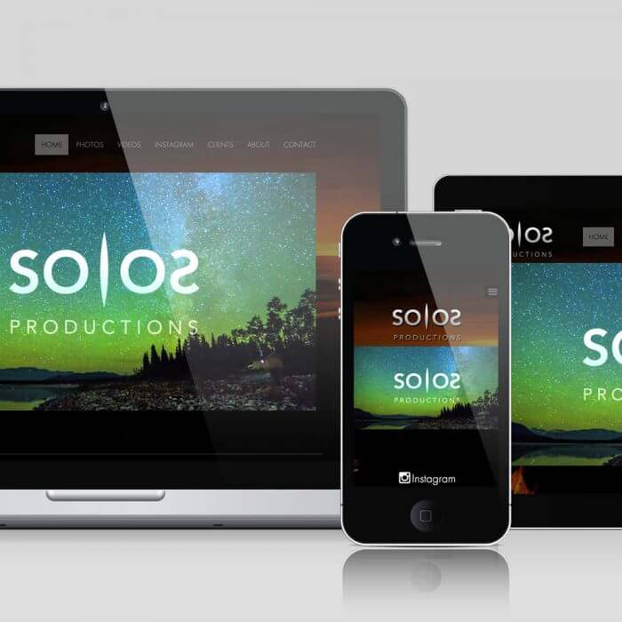 SOLOS Productions Website